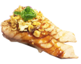 Aburi-spicy grill salmon