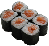 Mini Rolls-salmon roll