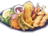 HD-mix tempura dish