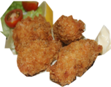 HD-fried oyster dish